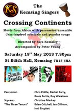 Crossing Continents, 18 May 2013