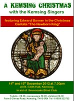 A Kemsing Christmas, 14 & 15 December 2012