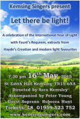 Let There by Light!, 16 May 2015