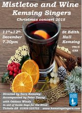 Christmas Concert, Mistletoe and Wine, December 2015