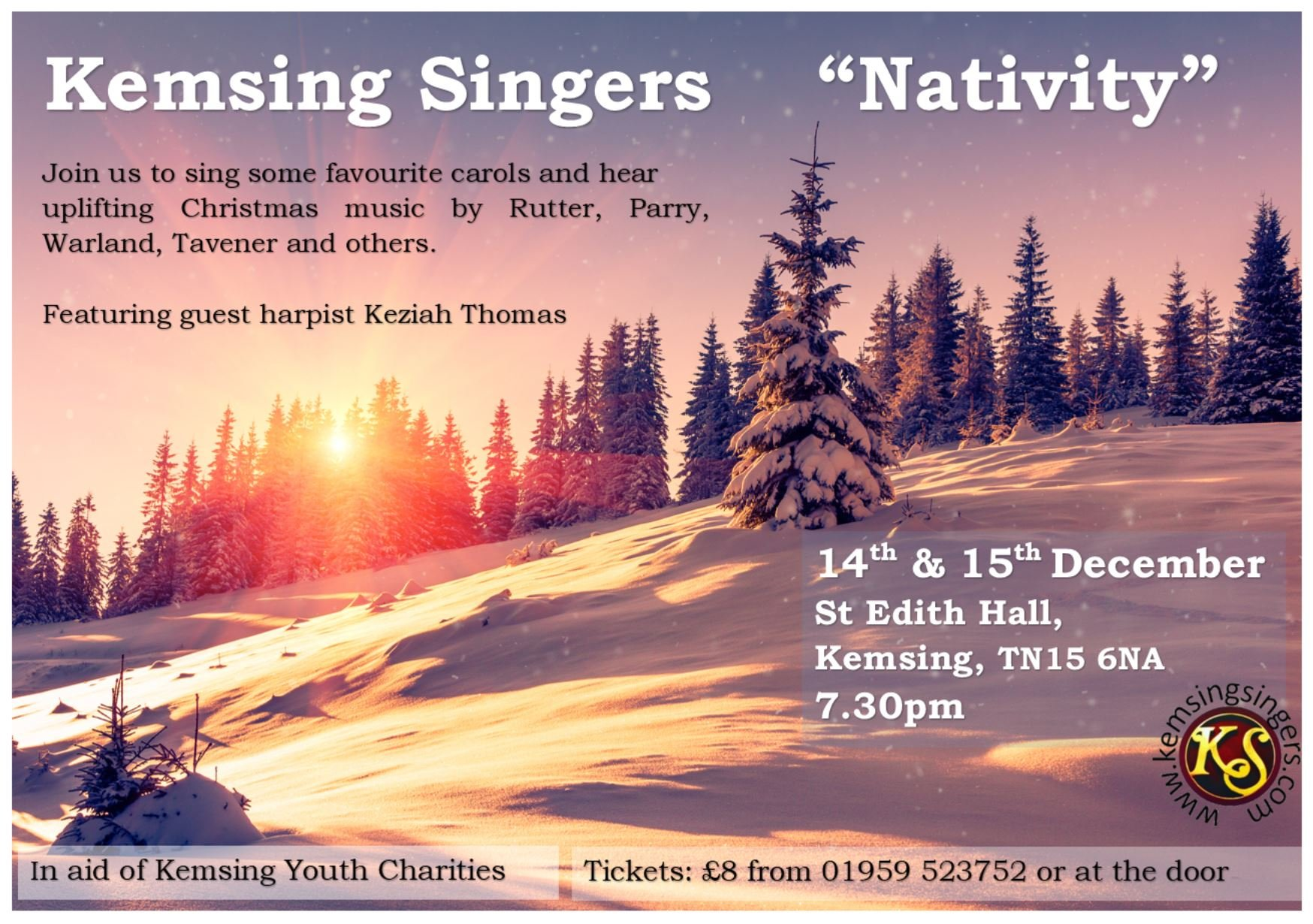 'Nativity' Christmas concerts, December 2018